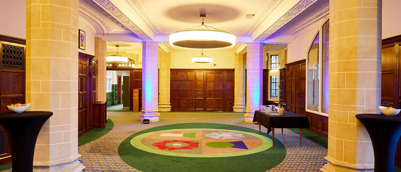 Interior of the supreme court
